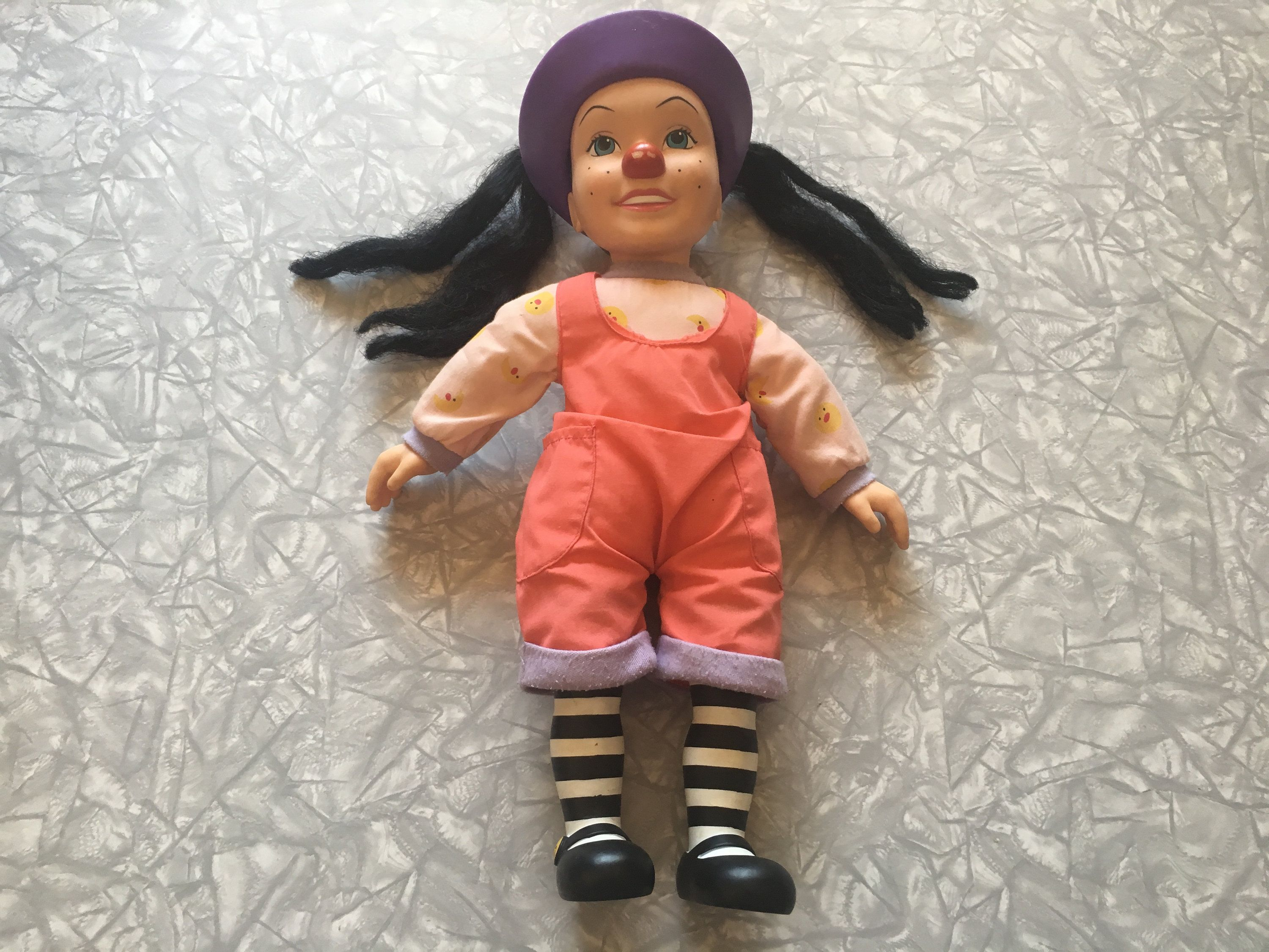 Big Couch Clown 1995 Big Comfy Couch Loonette The Clown Large Doll My Ebay