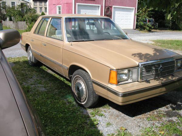 1984 Plymouth Reliant Mechanicsburg Pa Image 3