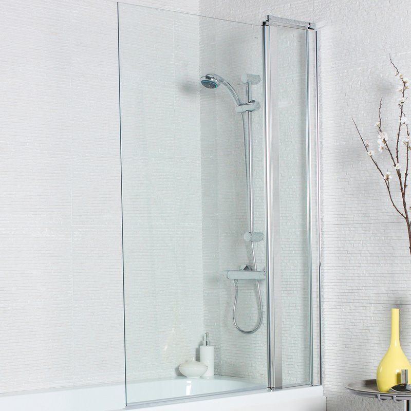 Neve 1400 X 1000 Mm Straight Glass Hinged Bath Screen Glass Hinges Bath Screens Shower Sliding Glass Door