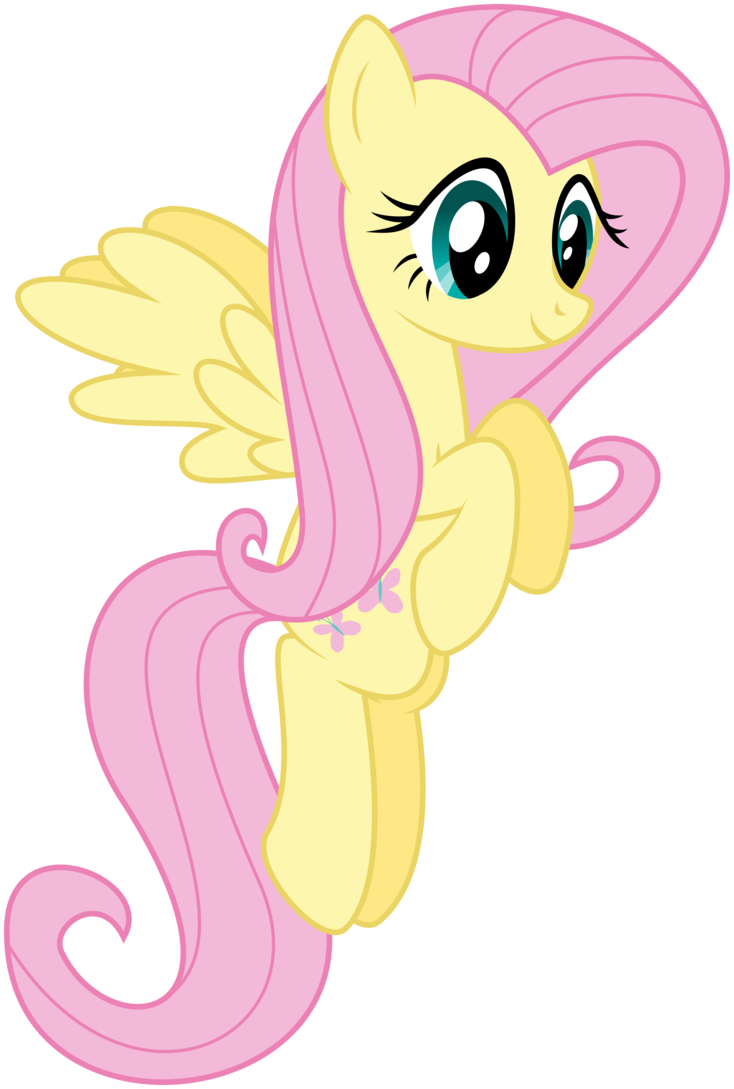 just fluttershy flying around by gigovectnpix on
