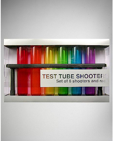 46ed978ee393 ... Cool Shot Glasses at Unbeatable Prices! Toast with our Unique and Funny  Shooters! Test Tube Shooters 6 Pk - Spencer s