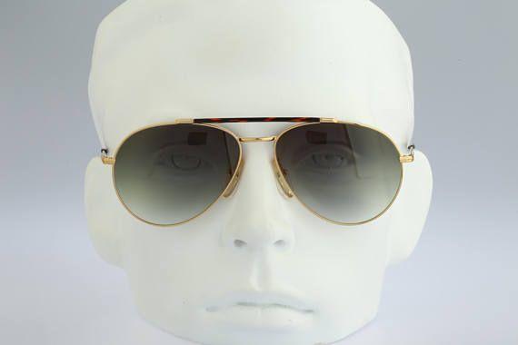 4f354bc1f4ed6 Carrera 5349 40 Vintage drop aviator sunglasses 80s mens