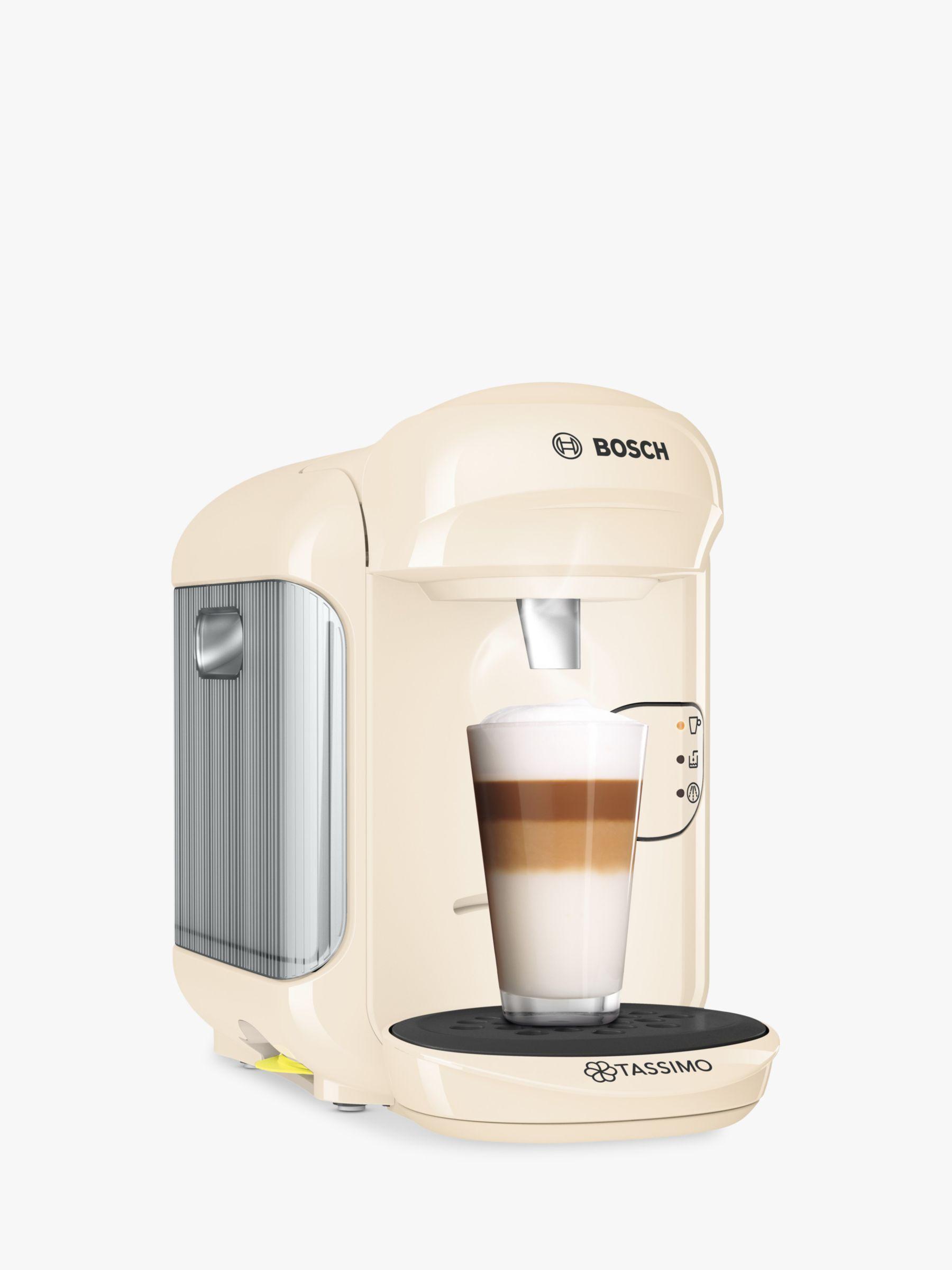 Tassimo Vivy Coffee Machine by Bosch, Cream Home coffee