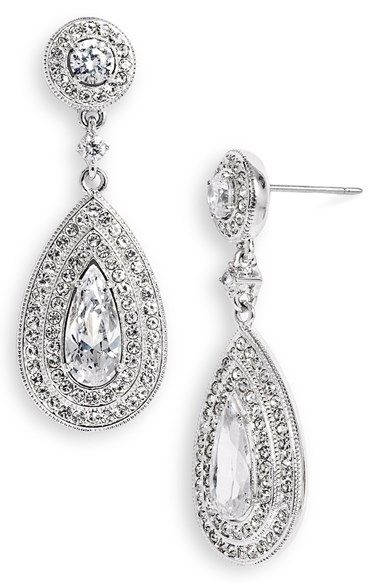 a51efb04279e7 Free shipping and returns on Nadri Pear Drop Earrings at Nordstrom ...