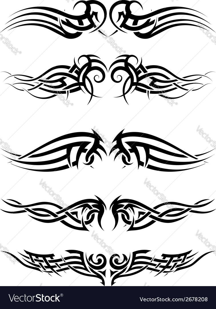 Tribal tattoos Vector Image by angelp | graphic | Pinterest | Tattoo ...