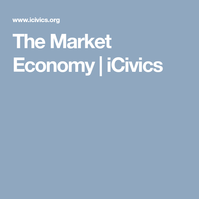 The Market Economy | iCivics | Market economy, Marketing ...