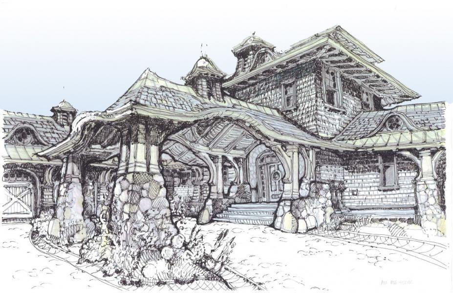 This is a really detailed home blueprintdrawing it would give the this is a really detailed home blueprintdrawing it would give the customer a good idea of what their home would look like i could use this amount of malvernweather