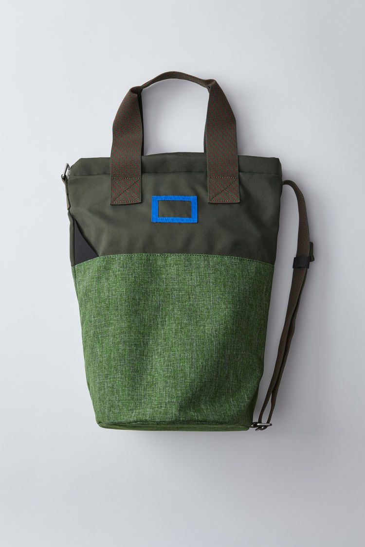 Tote Bag On Is Acne Studios Konst Woods Green Blå Based CBodexrW