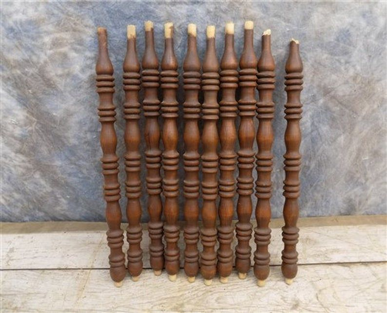 wood chair spindles parts