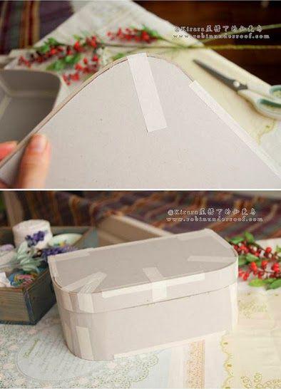 Maleta De Papelao Com Imagens Maletas Cartonagem Cartonagem