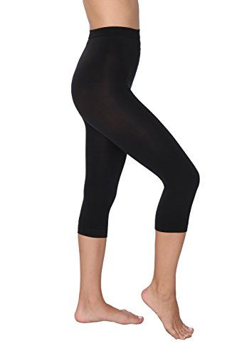 8e36f92094a50 Hanes Shaping Slims Waist Capri / Black | IamLosingWeightToday.com |  Supplements & Diets to Lose Weight Fast