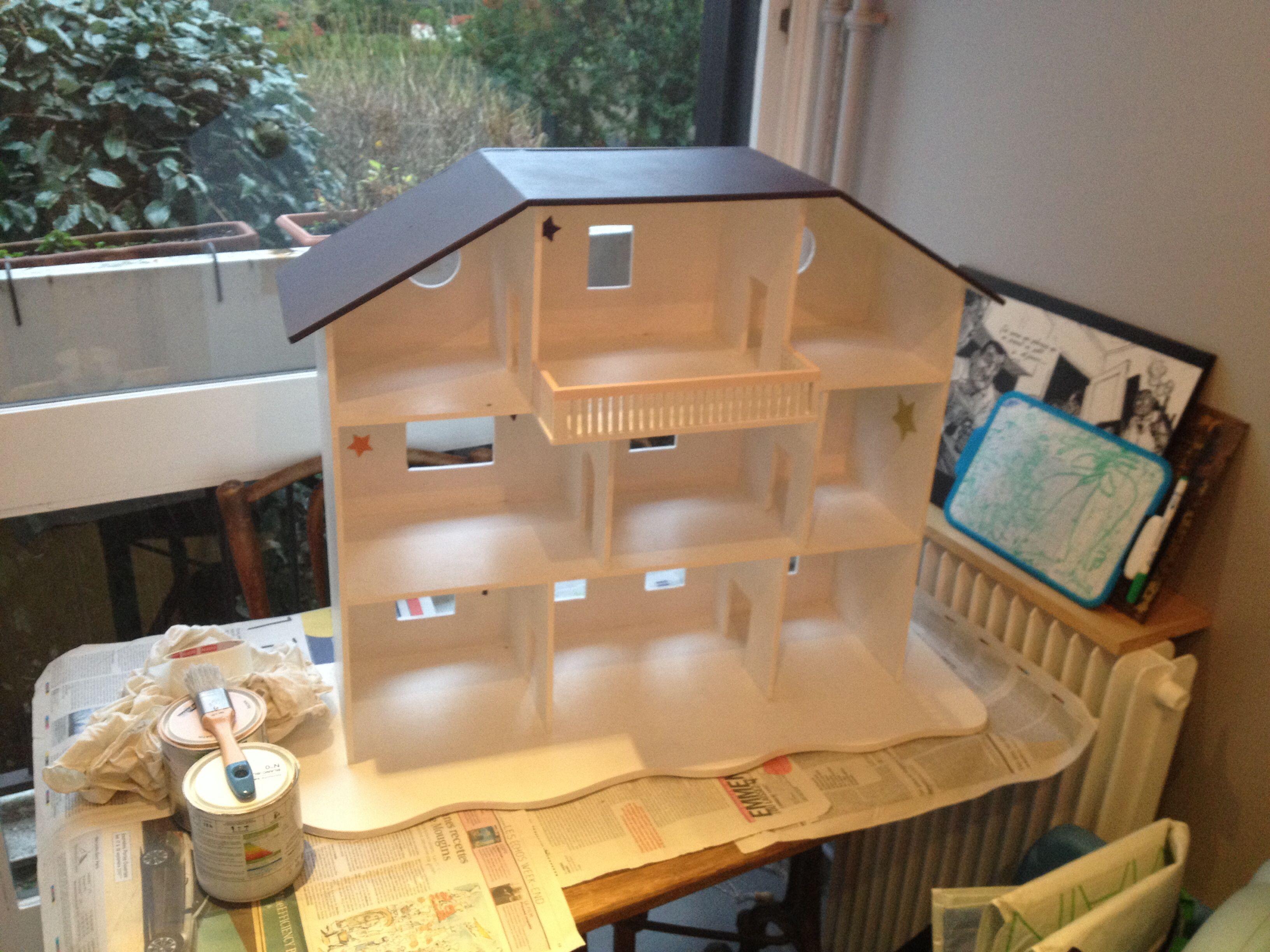 diy maison de playmobil a faire pour ses enfants pinterest maison de playmobil diy maison. Black Bedroom Furniture Sets. Home Design Ideas