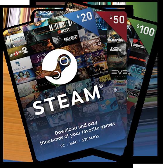 Steam Gift Card Wallet Gift Card Digital Gift Card Gift Card Generator