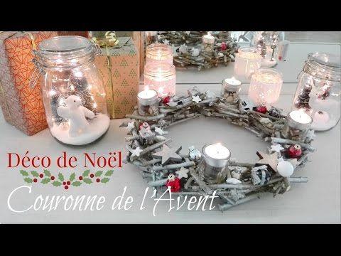 Décoration De Noël Fabriquer Facilement Une Couronne De Noël