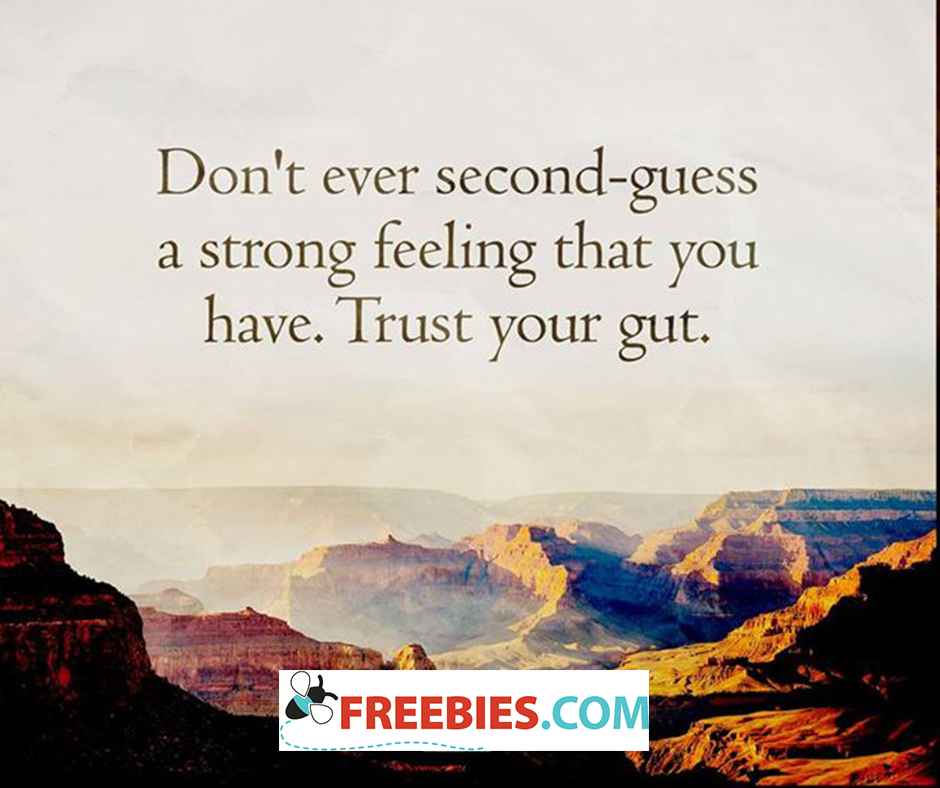 Trusting your gut in dating what is second