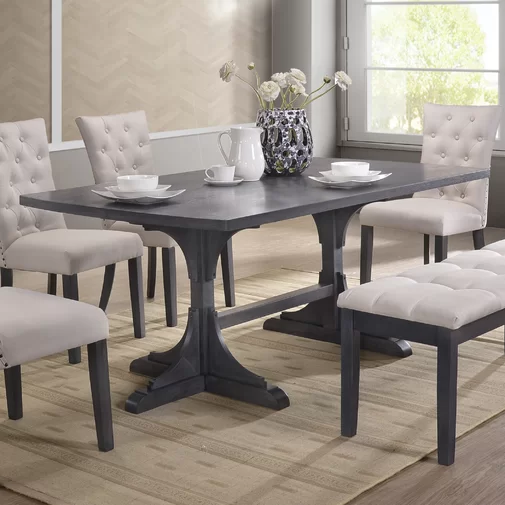 Harristown Dining Table Grey Dining Tables Dining Table