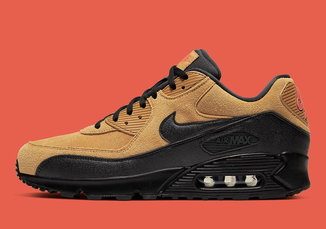 Nike Air Max 90 Wheat Black AJ1285 700 Release Info | Nike