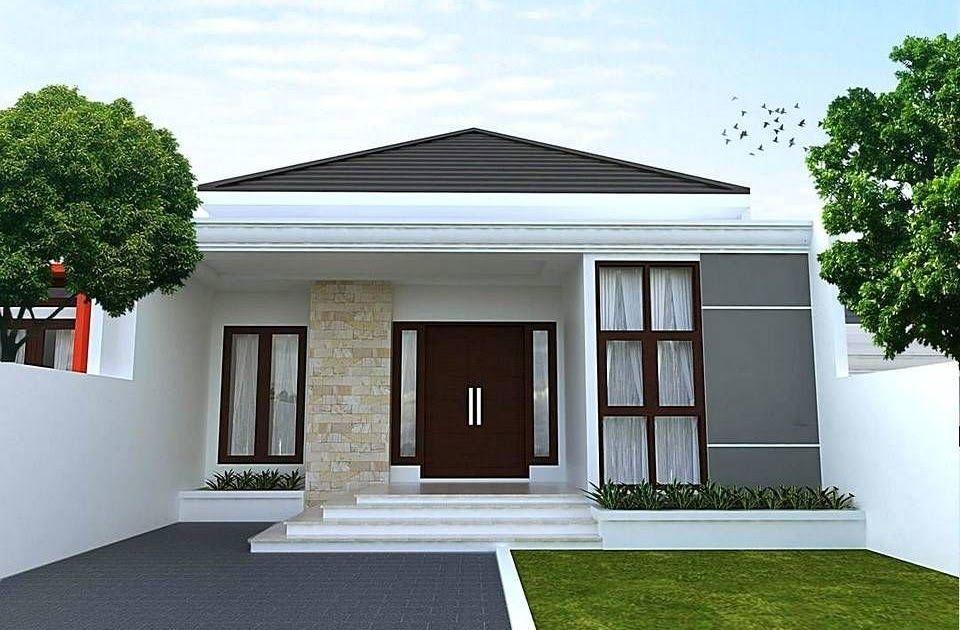 Kumpulan Variasi Rumah Minimalis Tampak Depan Disertai 60 Gambar Tampak Depan Rumah Minimalis 1 La In 2020 House Designs Exterior House Exterior Classic House Design