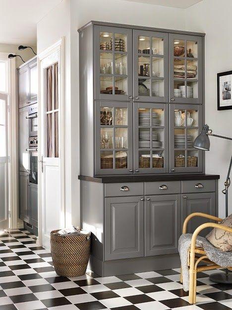 ikea keittiö harmaa - Google-haku My future house!! Pinterest - sitzecke küche ikea