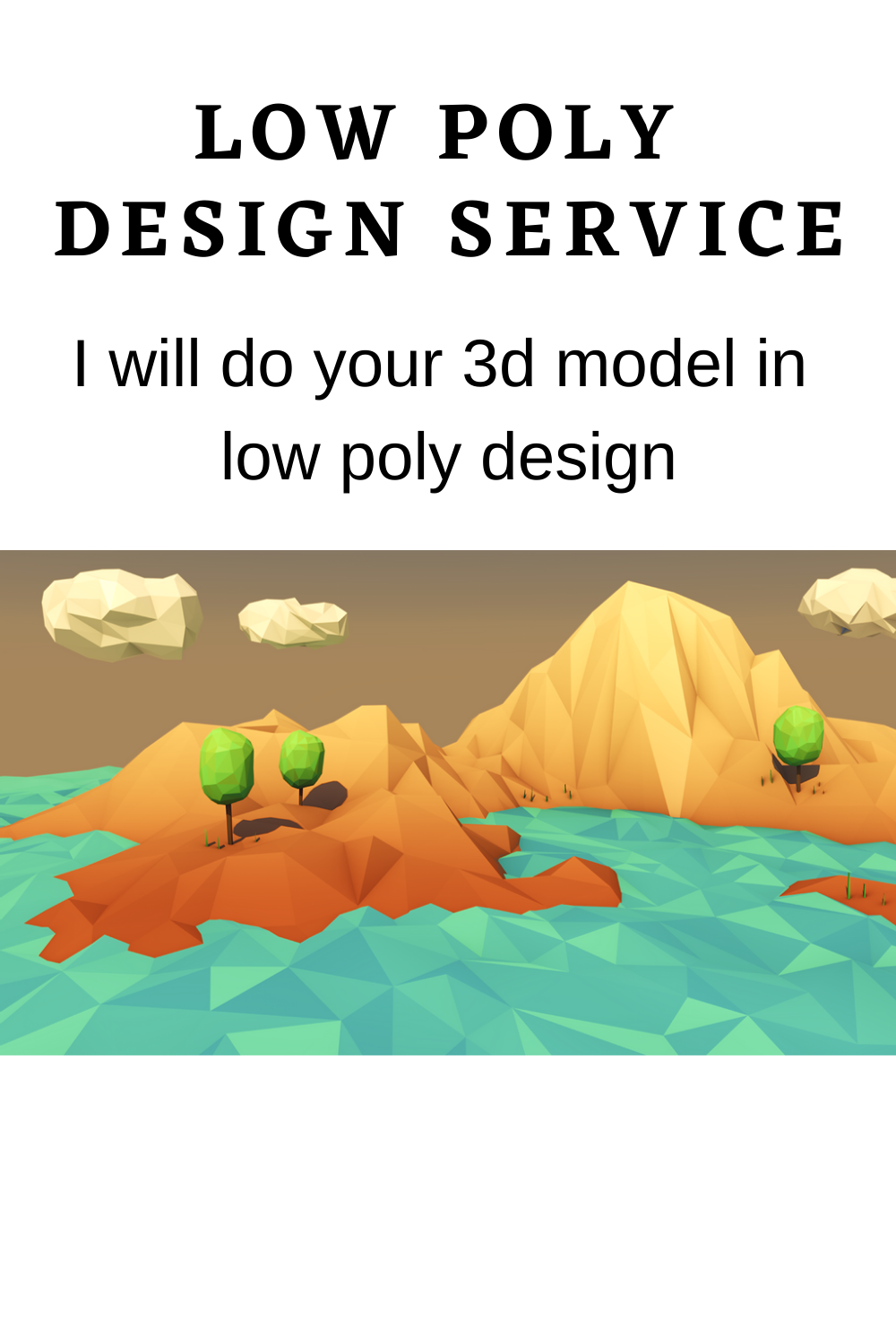 I will do your 3d model in low poly design, #3dinteriorlowpoly #lowpolyindoorplants3dmodel #3dmodelinlowpoly #industrylowpoly3dmodel #lowpolyjetpack3dmodel #lowpolyjacket3dmodel #lowpoly3djavascript #jacket3dlowpoly #lowpolyart3djigsawpuzzle #lowpolyjetfighter3dmodel #3dmodeljellyfishlowpoly #lowpolyjetski3dmodel #keyboard3dmodellowpoly #lowpoly3dkey #lowpoly3d #kungfulowpoly3dmodel #3dlowpolylandscape #3dlowpolyleaf #unity3dlowpolylight #lowpolylion3dmodel #lowpolylandscape3dmodel