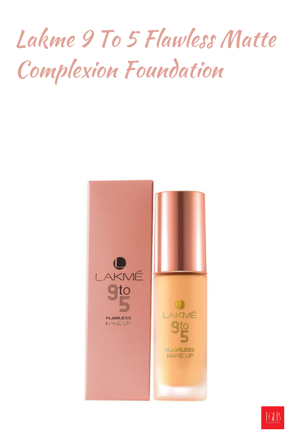 Lakme 9 To 5 Flawless Matte Complexion Foundation for Oily Skin Review. # Lakme #