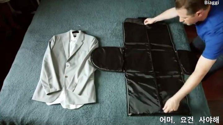 일석이조 여행용 가방 Garment Bag+Duffel Bag