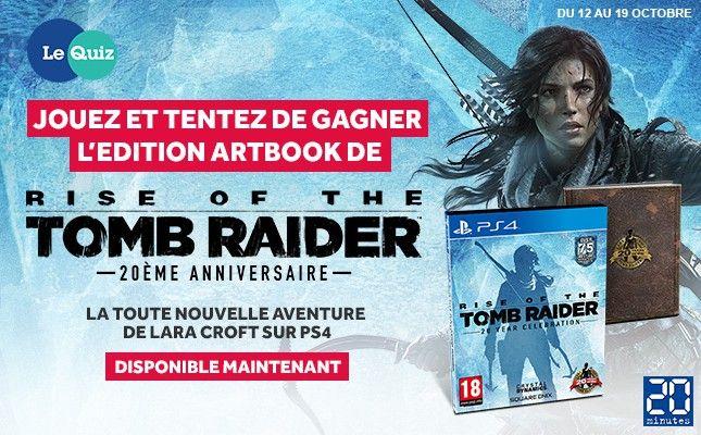 Gagnez la toute nouvelle aventure de Lara Croft sur PS4 !