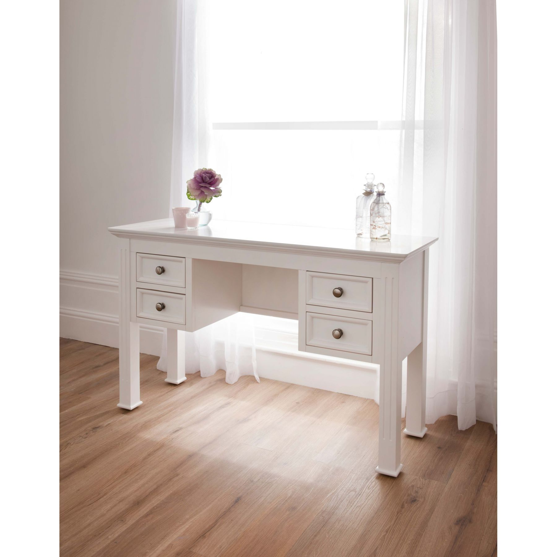 Sophia Shabby Chic Dressing Table Works Well Alongside Our Antique French  Furniture