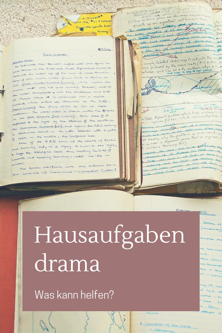 Hausaufgaben – Ein Drama in tausend Akten | Pinterest | Haussegen ...