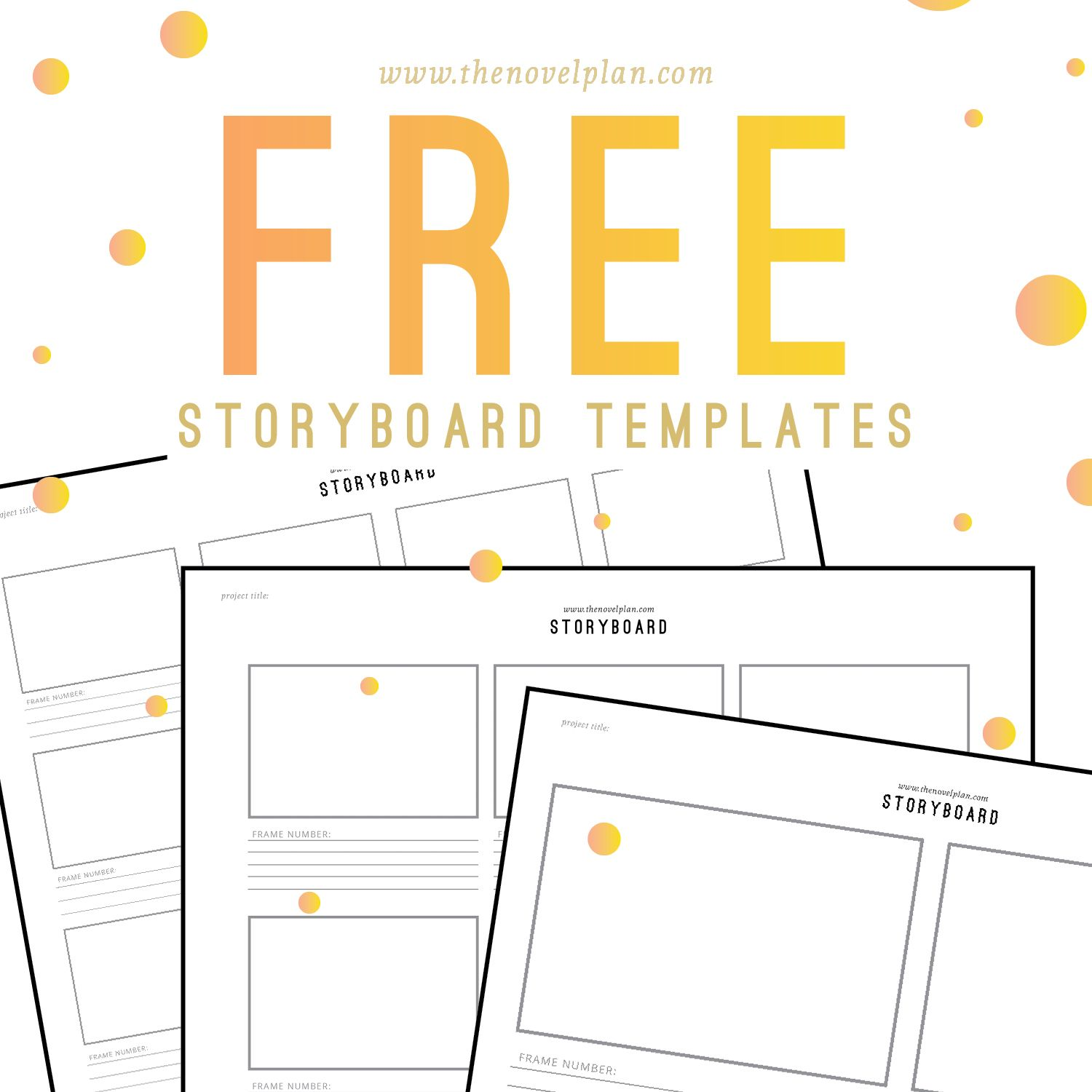 photograph regarding Printable Storyboard referred to as Absolutely free printable! Storyboard templates against The Novel Application