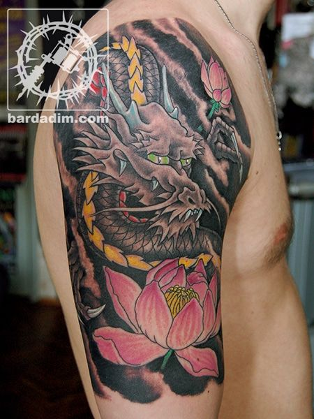 Japanese Tattoo George Bardadim Tattoo Artist Nyc Tattoos Traditional Japanese Tattoos Hannya Mask Tattoo