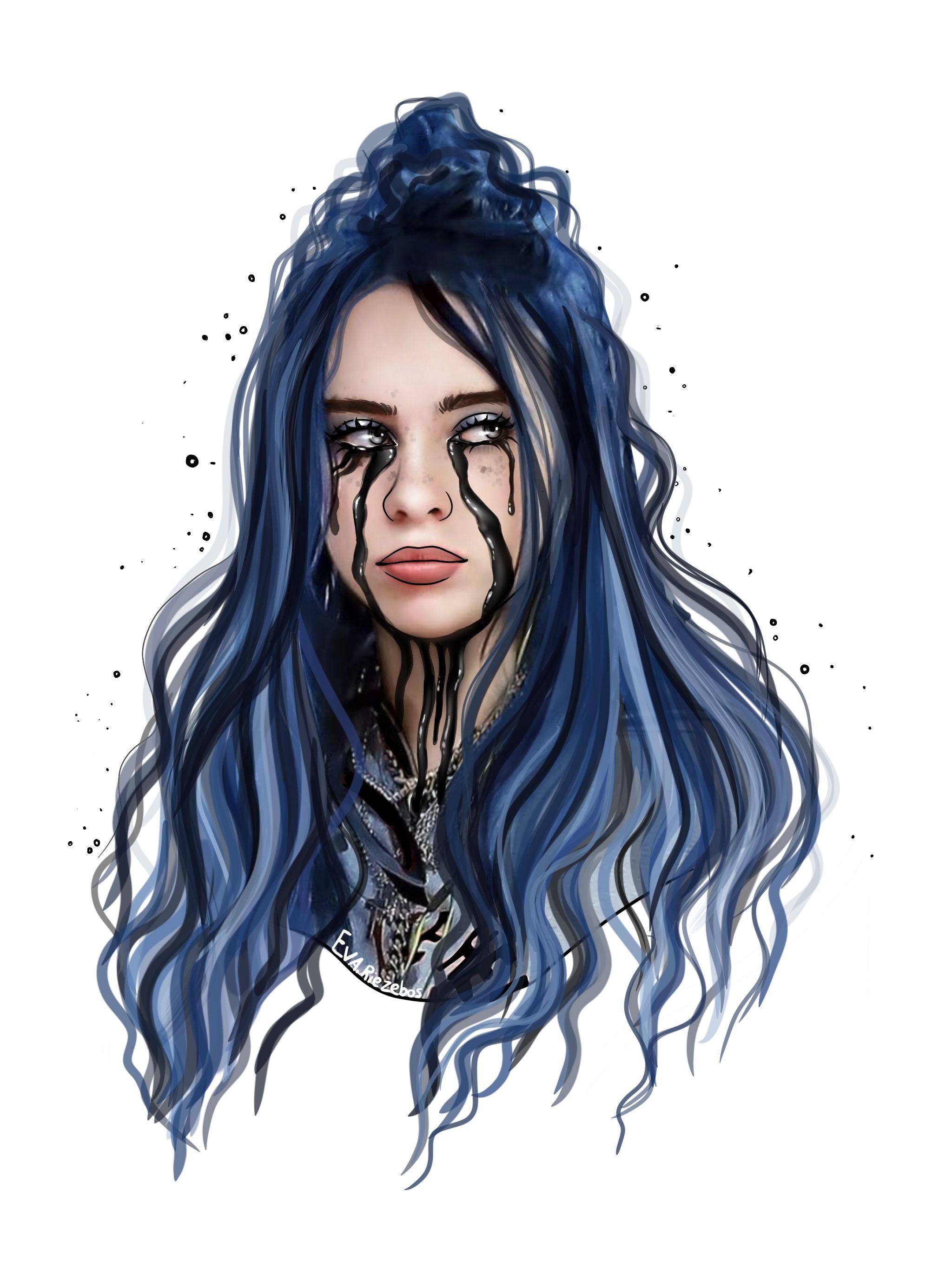 Billie Eilish Desenhos De Tumblr Desenhos De Pessoas Tipos De