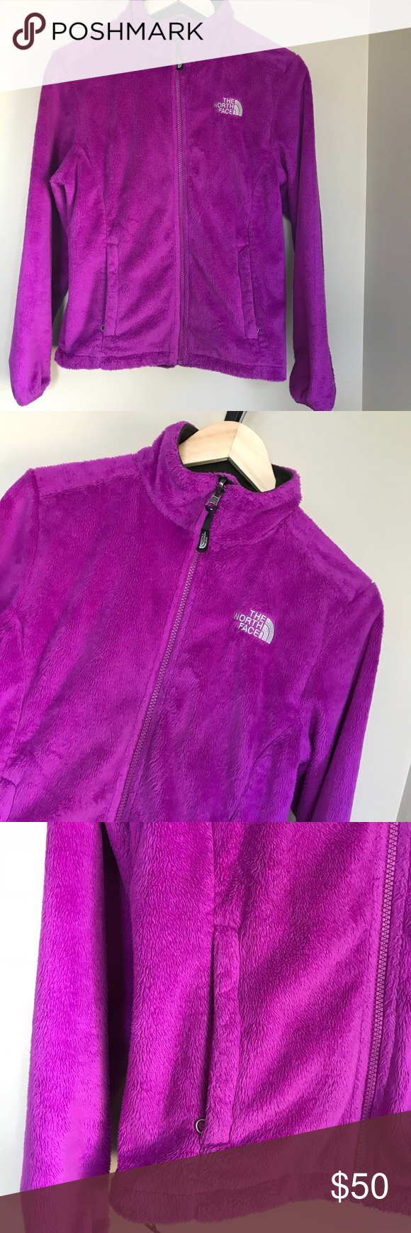 Sold The North Face Osito Purple Fleece Jacket S Fleece Jacket Jackets The North Face [ 1740 x 580 Pixel ]