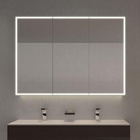 Spiegelschrank Nach Mass Mit Led Credo Bild 1 Spiegelschrank Spiegelschrank Beleuchtung Badezimmer Design