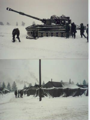 Winter Training At Grafenwoehr 1985 Army Life Military Units Germany Castles