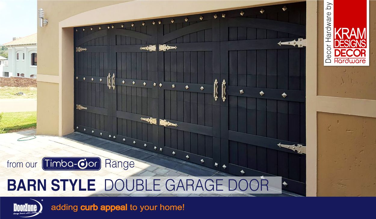 our barn style sectional garage doors from our timba dor range featuring decorative hardware - Barn Style Garage Doors