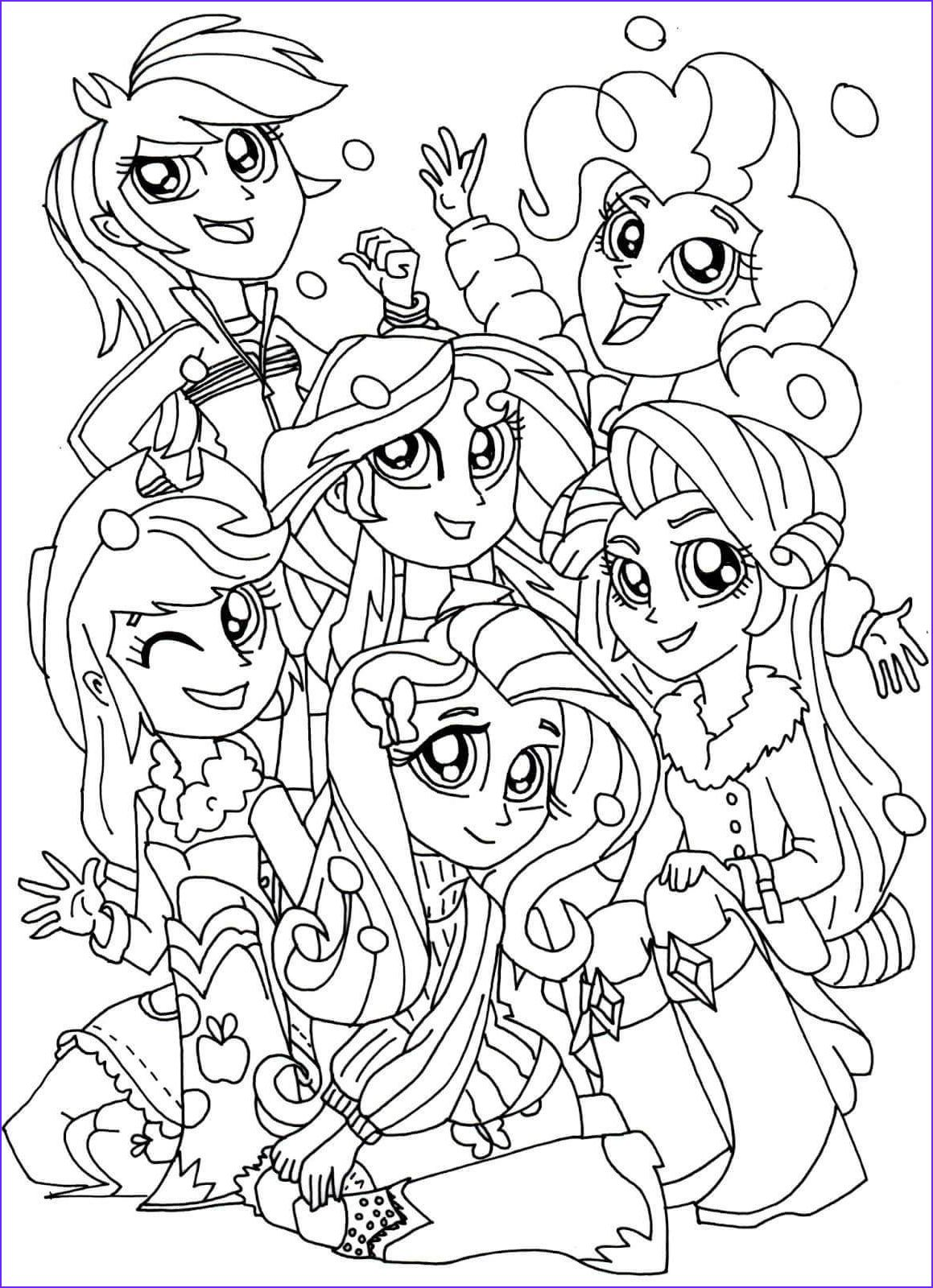Little Pony Coloring , Coloring Pages My Little Pony ...