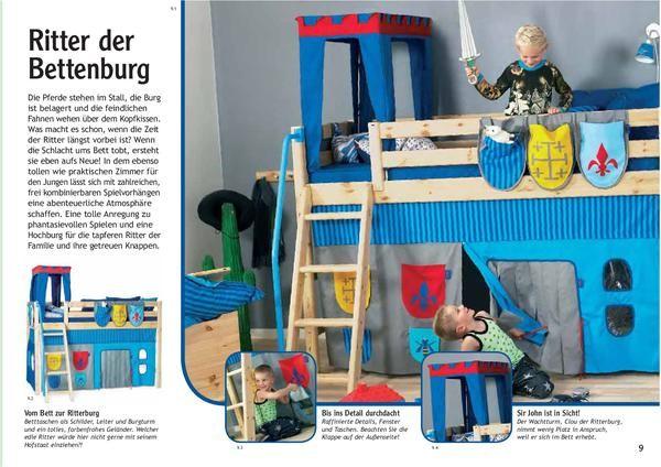 Flexa Halfhoogslaper Disney.Flexa Bed Curtains Knights Kids Bedroom Ideas Flexa Bed Bed