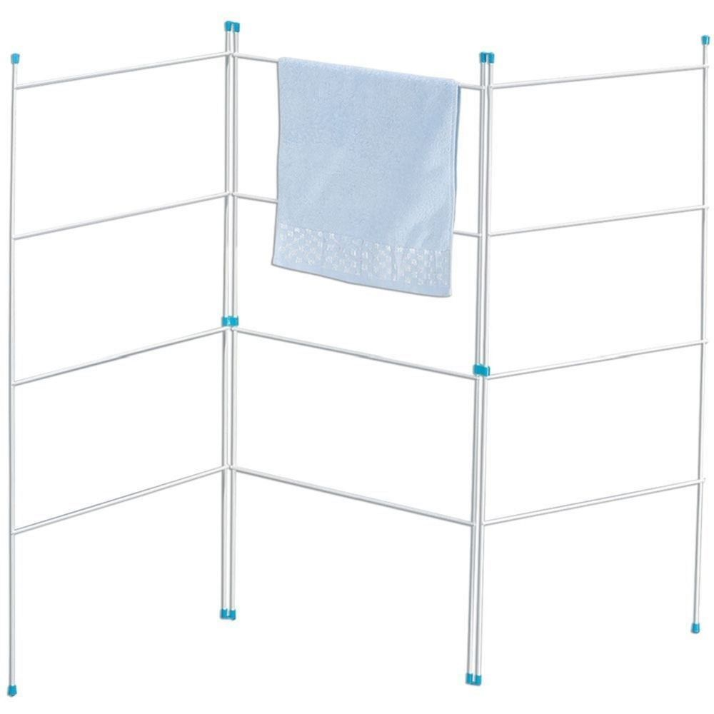 Details about Folding Clothes Towel Hanger Laundry Airer Dryer Dry Rack  Hanging Outdoor Wire