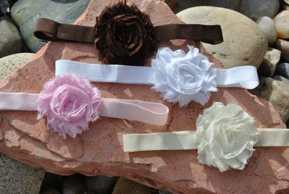 Shabby Chic Rose by HappyHolmzCreations on Etsy, $5.00