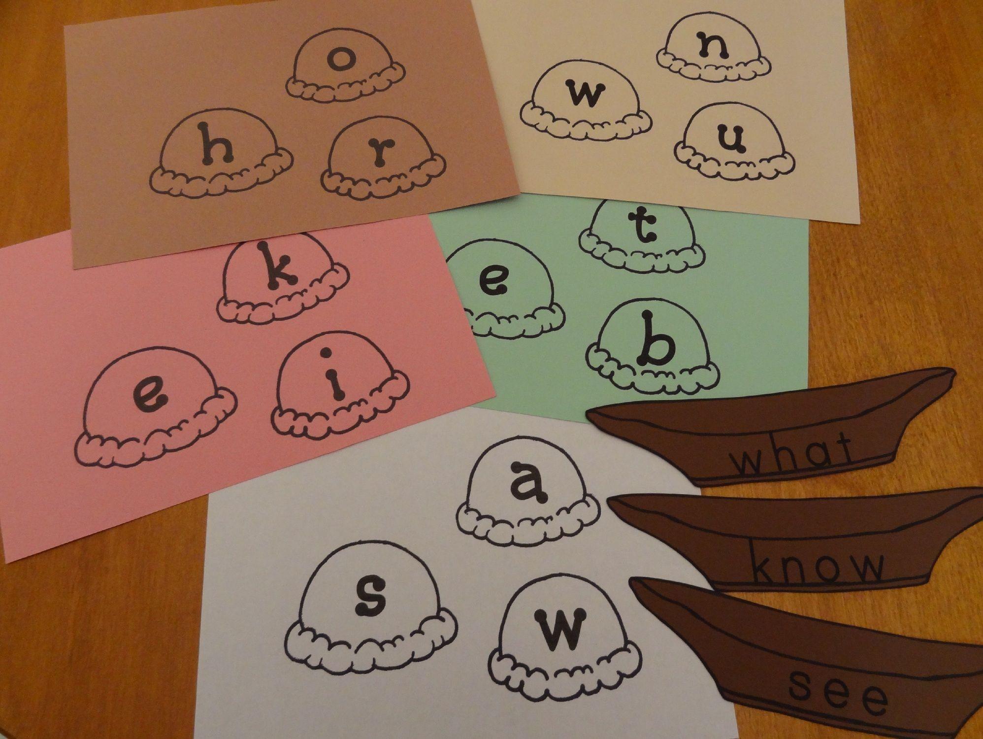 Sight Word Sundaes Fun Literacy Activities For Preschoolers Amp Kindergartners Includes Free