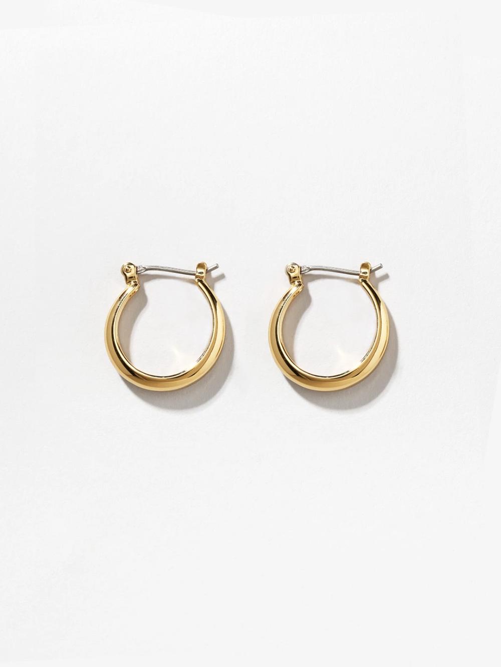 Endless Gold Hoop Earrings Venus In 2021 Gold Hoop Earrings Gold Hoops Hoop Earrings