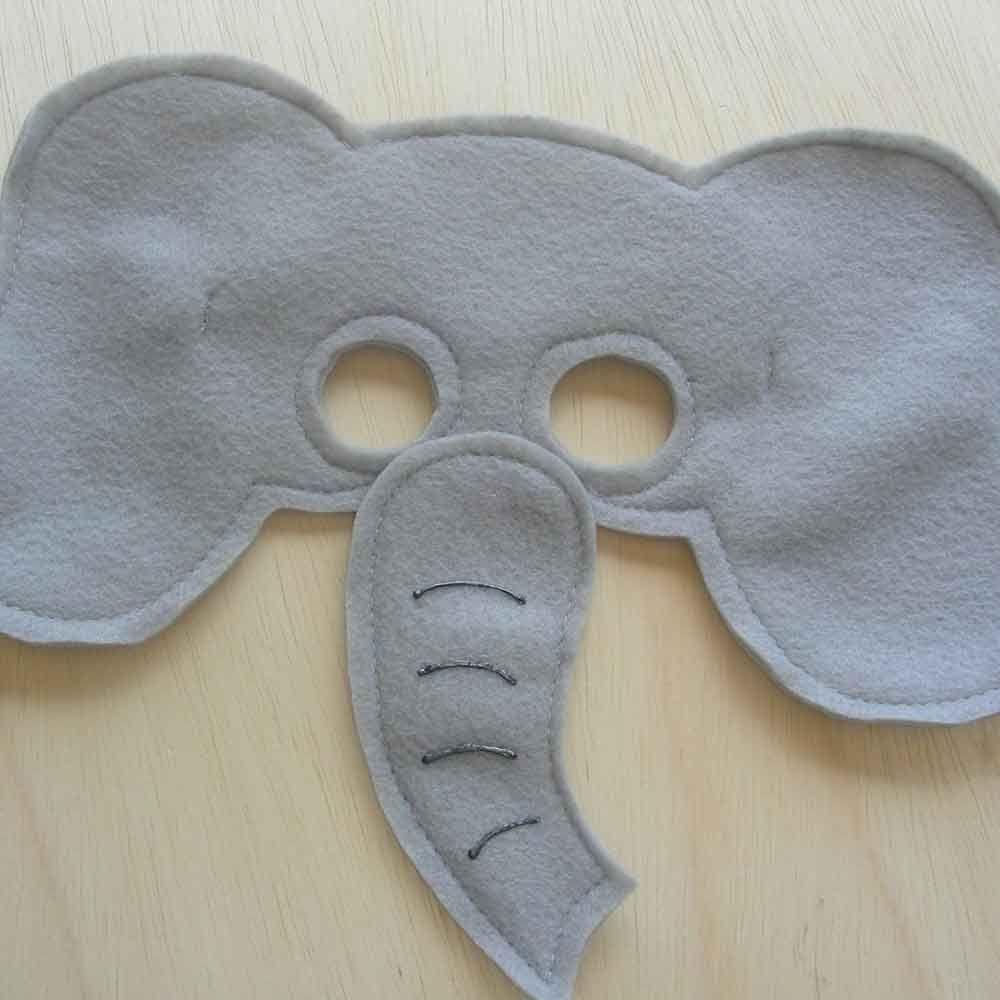 elephant masks | Amara\'s 2nd bday | Pinterest | Masking, Costumes ...