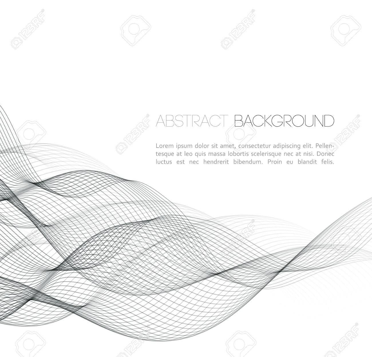 Vector Abstract Curved Lines Background Template Design Ad Curved Abstract Vector Lines Design Stock Photos Photo Abstract Backgrounds
