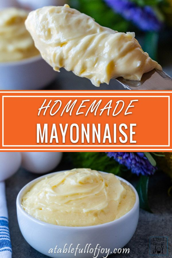 Easy Homemade Mayo Recipe Homemade Mayo Recipe Basic