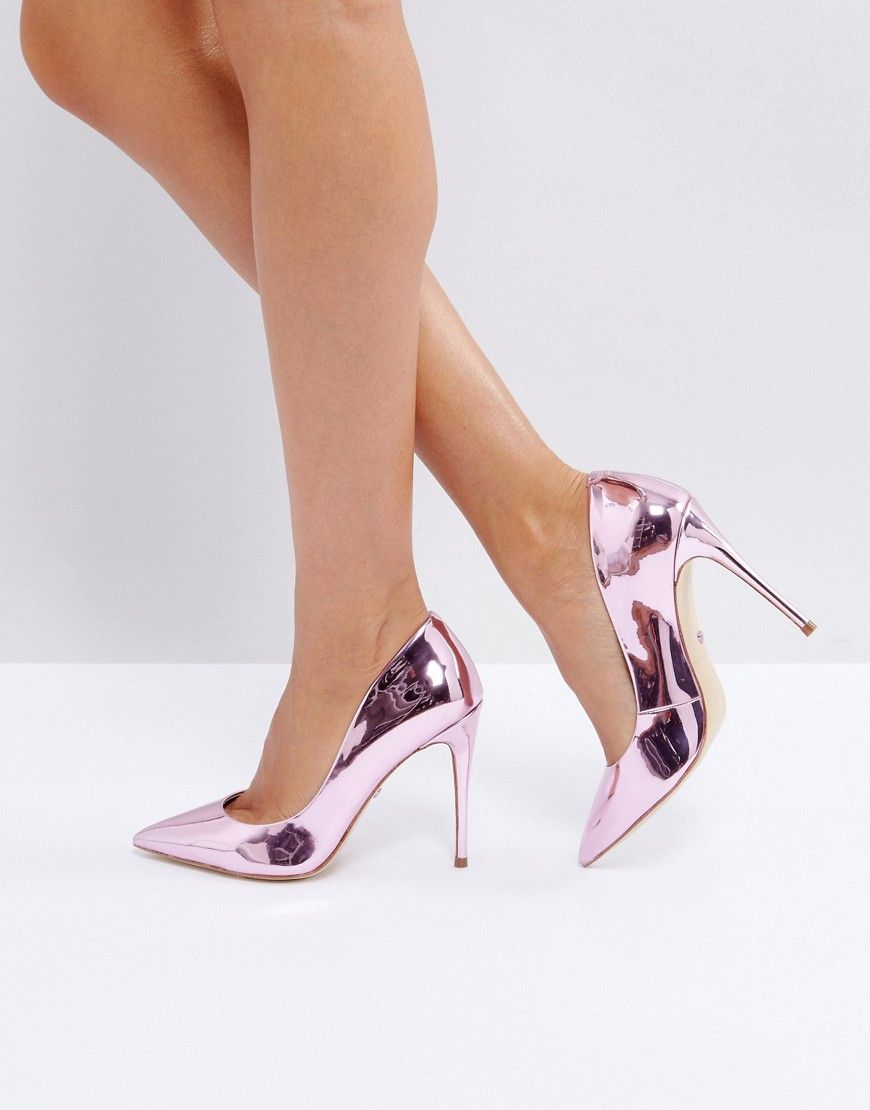 619487d502 ALDO Stessy Rose Gold Point Pumps - Gold   Fashion in 2019   Shoes ...