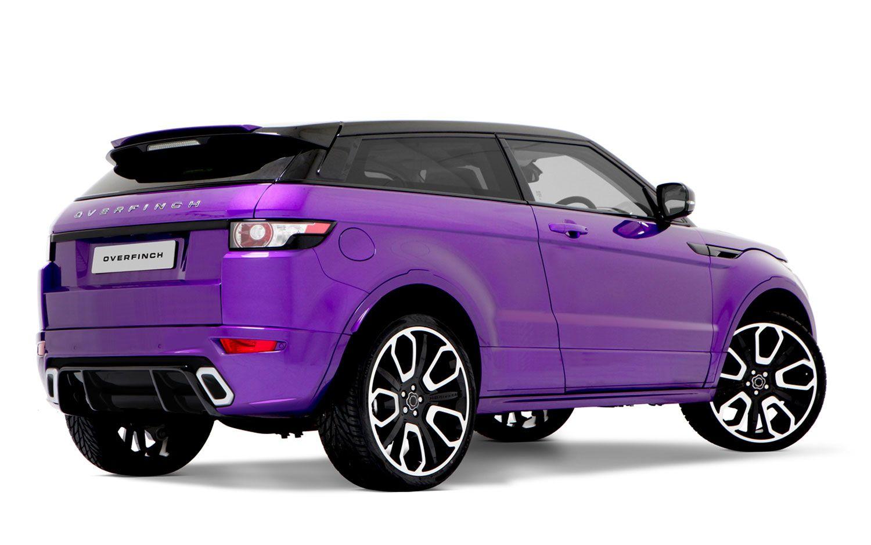 Overfinch Range Rover Evoque Gts Rear Three Quarter View Auto