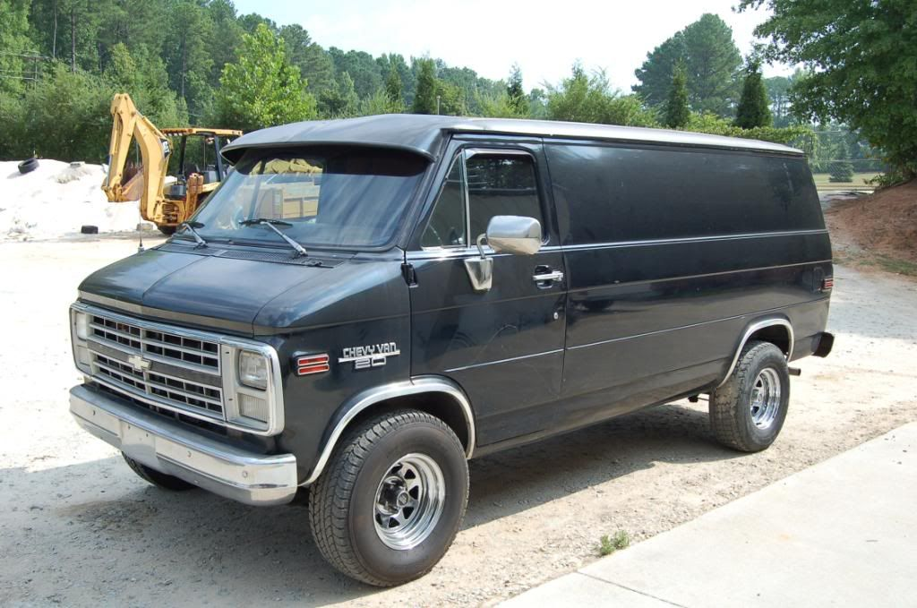 87 Chevy G20 Project Van Vans Chevy Riding