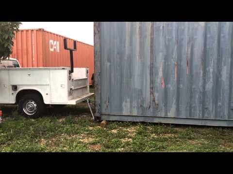 Will a 2500 pick up move a 4 ton shipping container ...