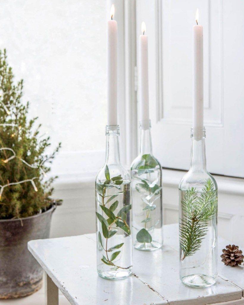 46 Stunning Winter Table Ideas For Winter Décor #winterdecor